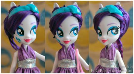 EQUESTRIA GIRLS Rarity doll repaint