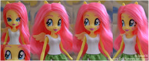 EQUESTRIA GIRLS Fluttershy doll repaint