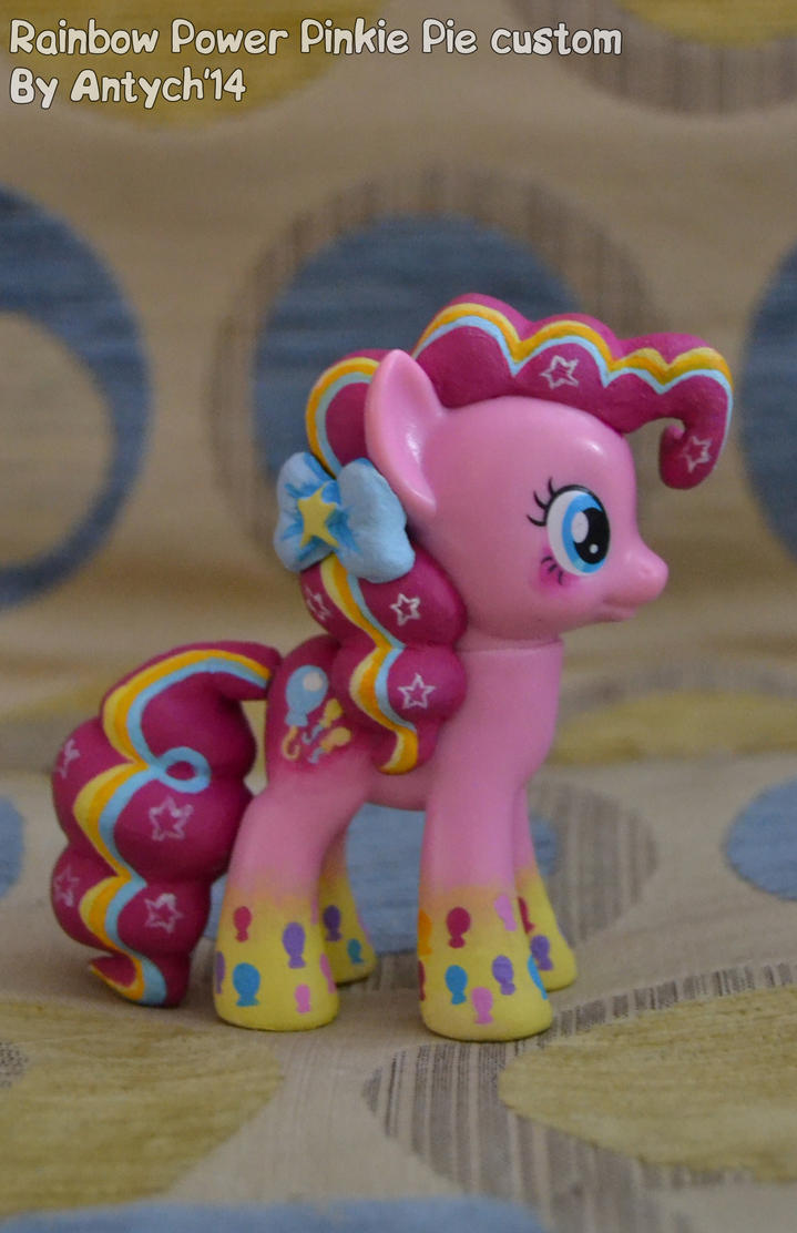 Rainbowfied Pinkie Pie custom by Antych
