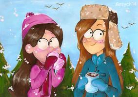 Snowy Gravity Falls