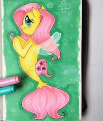 MLP:the Movie Fluttershy seapony