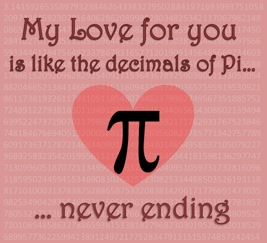 Pi Day Quotes Sayings: PI Love You By AlwaysLoveLorn On DeviantART