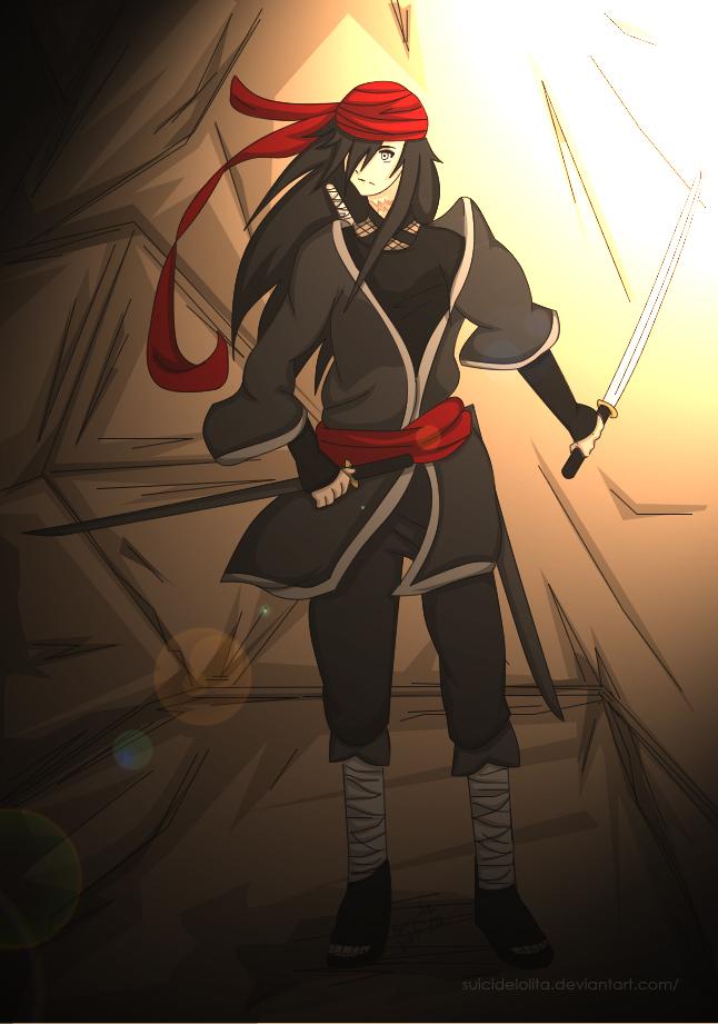 Ayumi Midorikawa O'c Naruto - Sunset by SuicideLolita