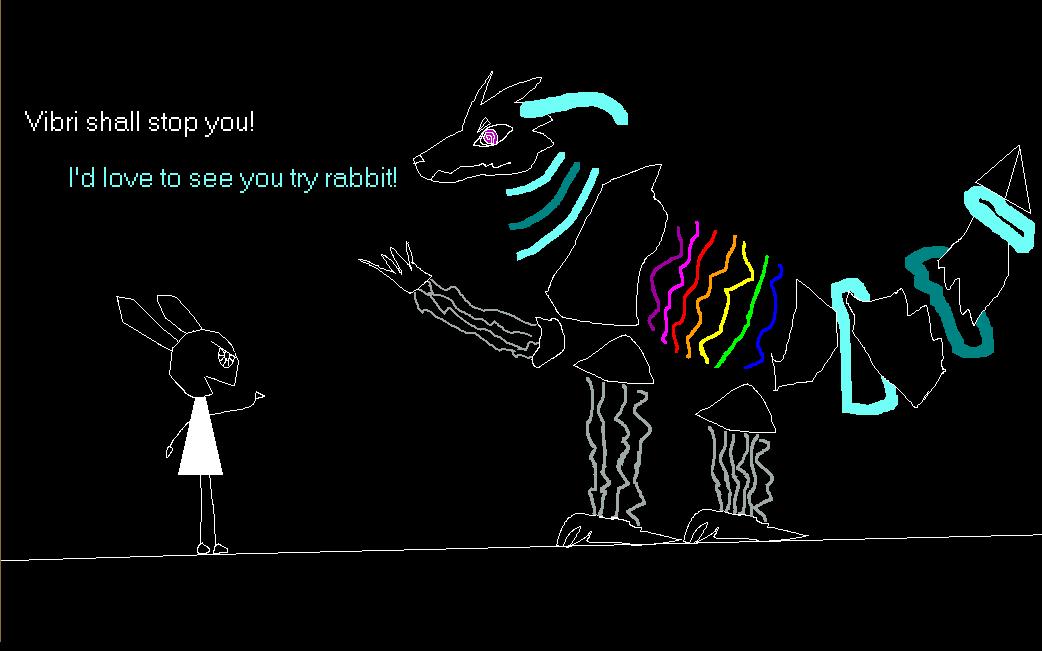 Vib-Ribbon vs Polybius by SparkleWolf404