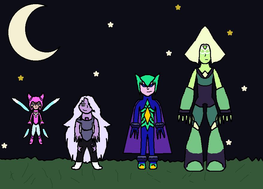 Dream Gem Team by SparkleWolf404