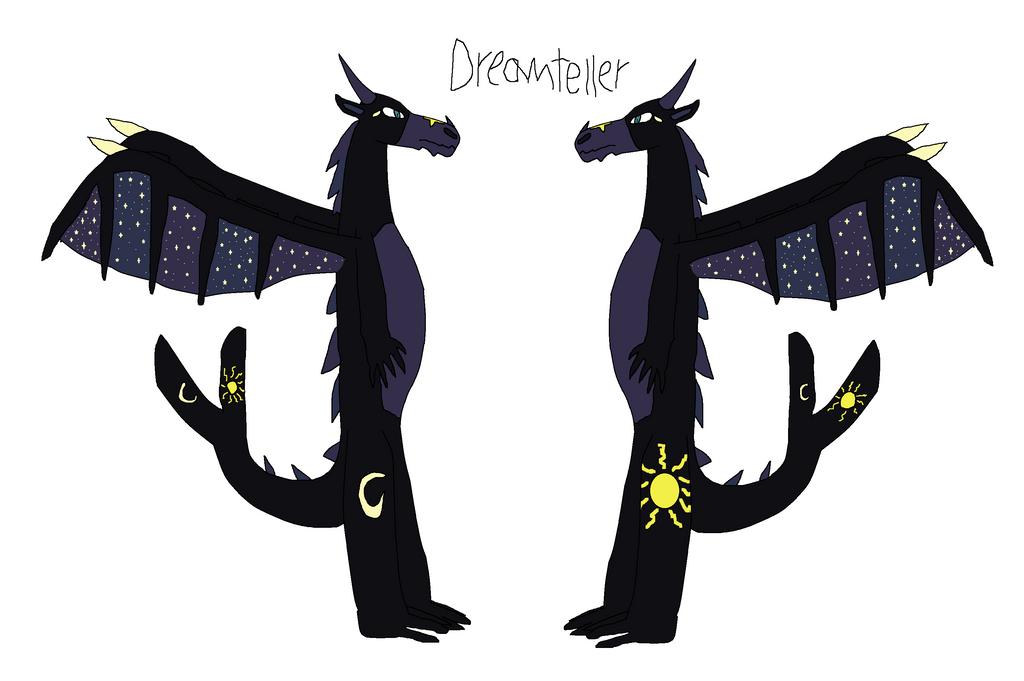 Dreamteller the dragon of dreams by SparkleWolf404