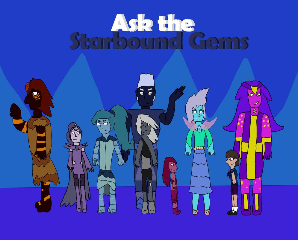 Ask the Starbound Gems by SparkleWolf404