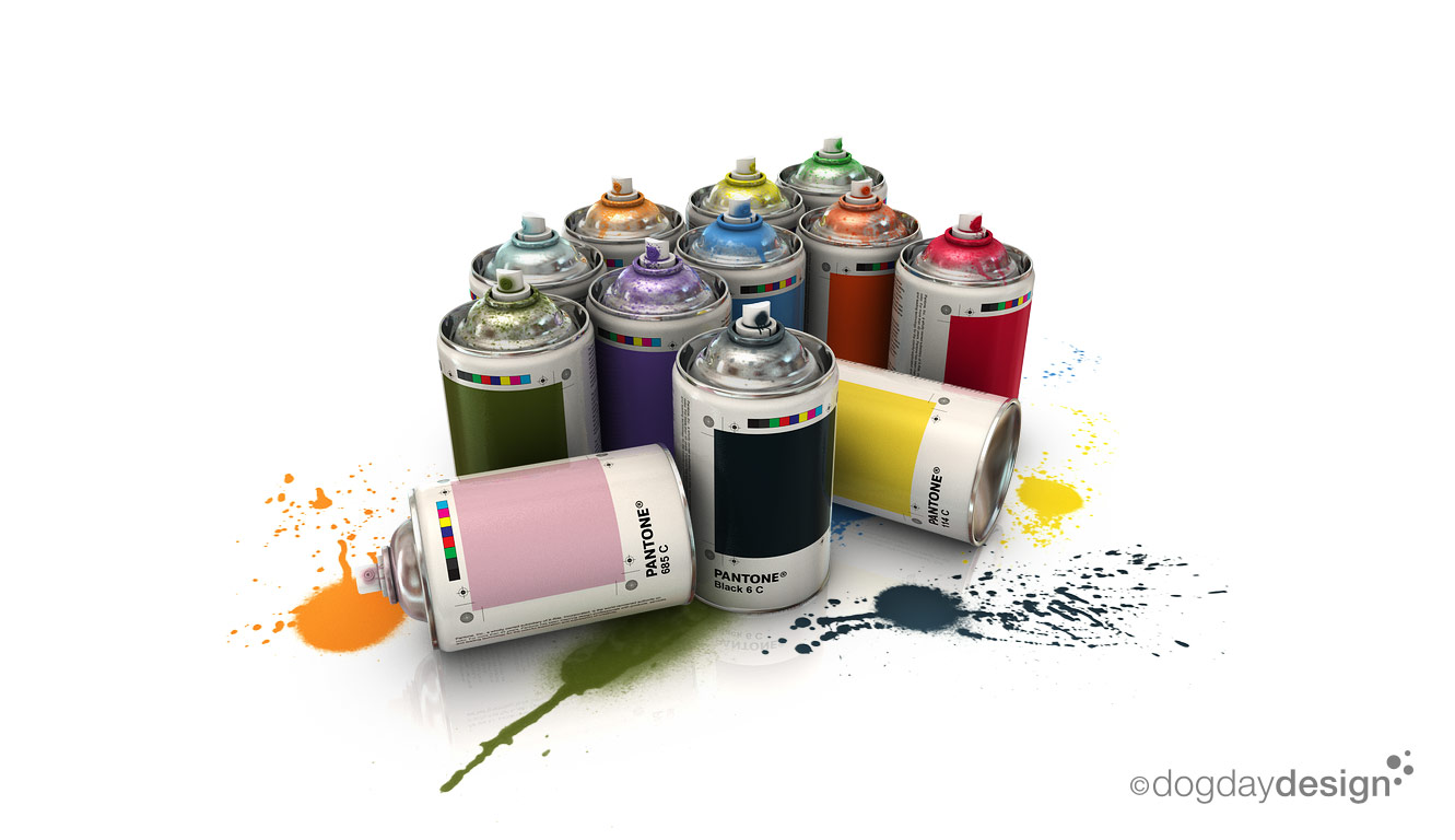 Pantone spray cans by cartesius on deviantart Paint with spray can