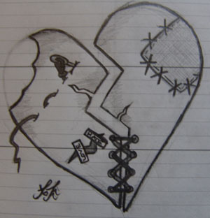 RowennaCox 11 7 Broken Heart By MichaelaKay666