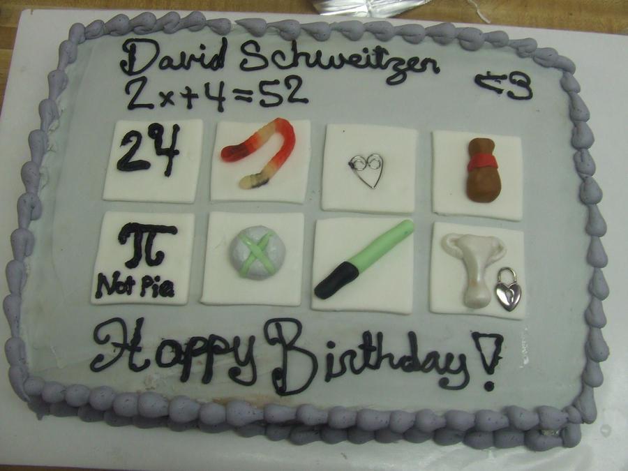 My boyfriend birthday cake by squirrellqueen67 on DeviantArt