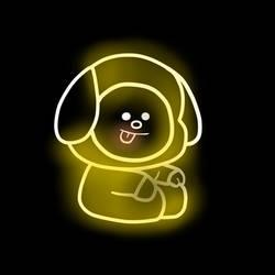 bt21   led lights   chimmy 2 by kiarazafiro dcnd2nu