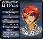 Reflection: mAvery