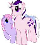 Twilight and Ember - FiM Style