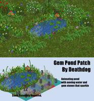 Sparkling Gem Pond (Furcadia Patch) by Deathdog3000