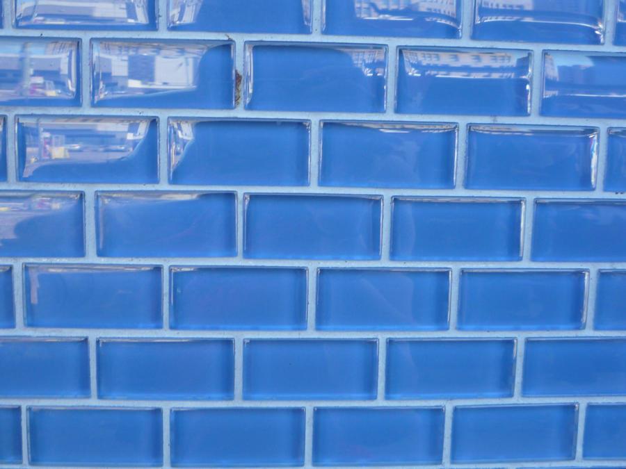 Blue tile wall by rosalinestock on deviantart