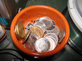 Coins by RosalineStock