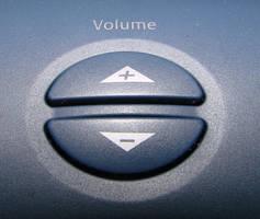 Volume Button by RosalineStock