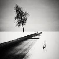 Winter Road by UweLangmann