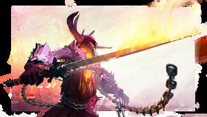 Guild Wars 2: Balthazar Fan Art