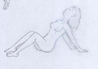 Sprawled Ugly Fairy by AylaOkami