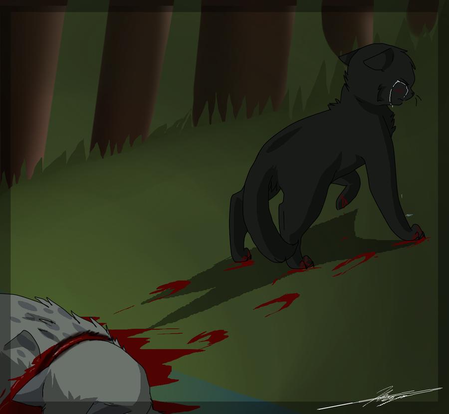 Ashfur Dies... again. by Dawnfirelunah
