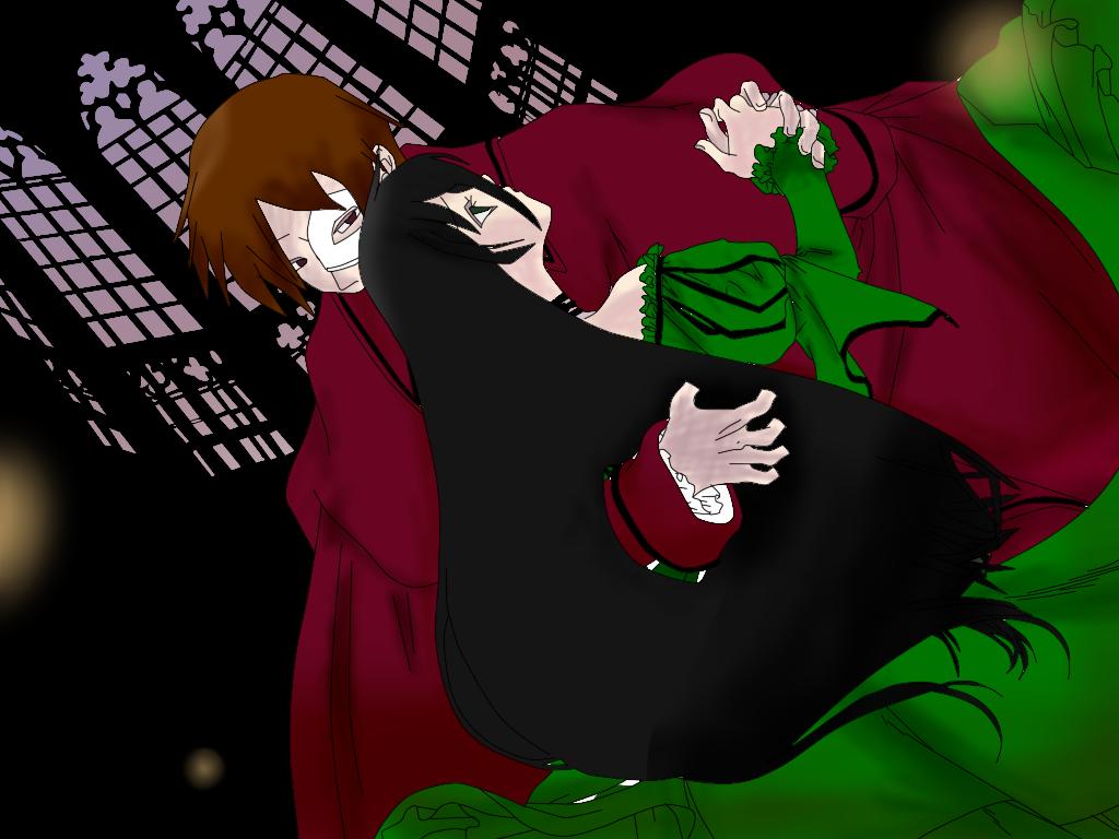 Jade Eden y Towa Kuroi: The Phantom of the Opera by JadeEdenCDM