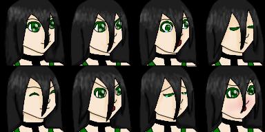 Jade Eden RPG Maker Expressions Sheet by JadeEdenCDM