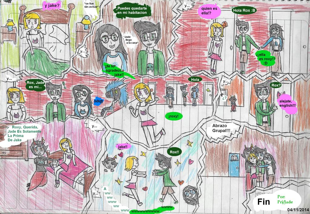 ''Celos'' Comic Cannon 04-11-2014 by JadeEdenCDM