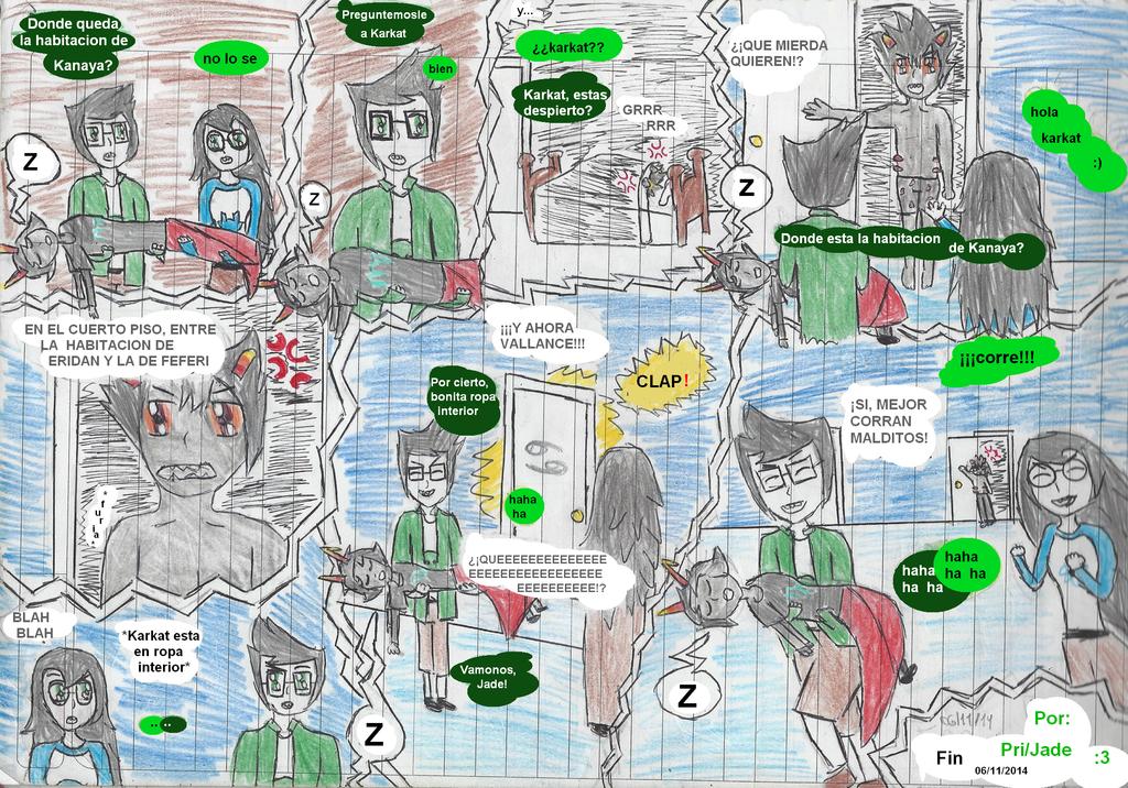 ''Bonita Ropa Interior'' Comic Cannon 06-11-2014 by JadeEdenCDM