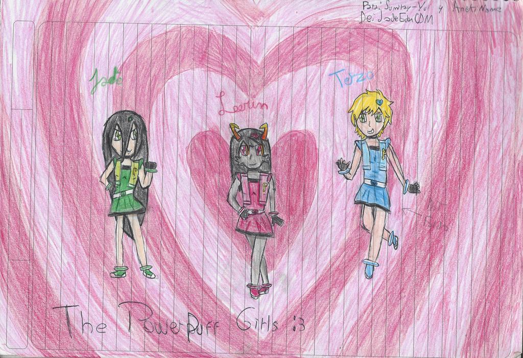 The PowerPuff Girls Z by JadeEdenCDM