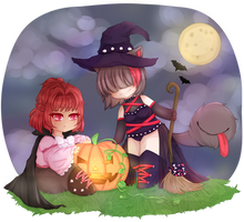 [Collab] Pumpkin Lights (feat. SA0KUN) by EternalMasque