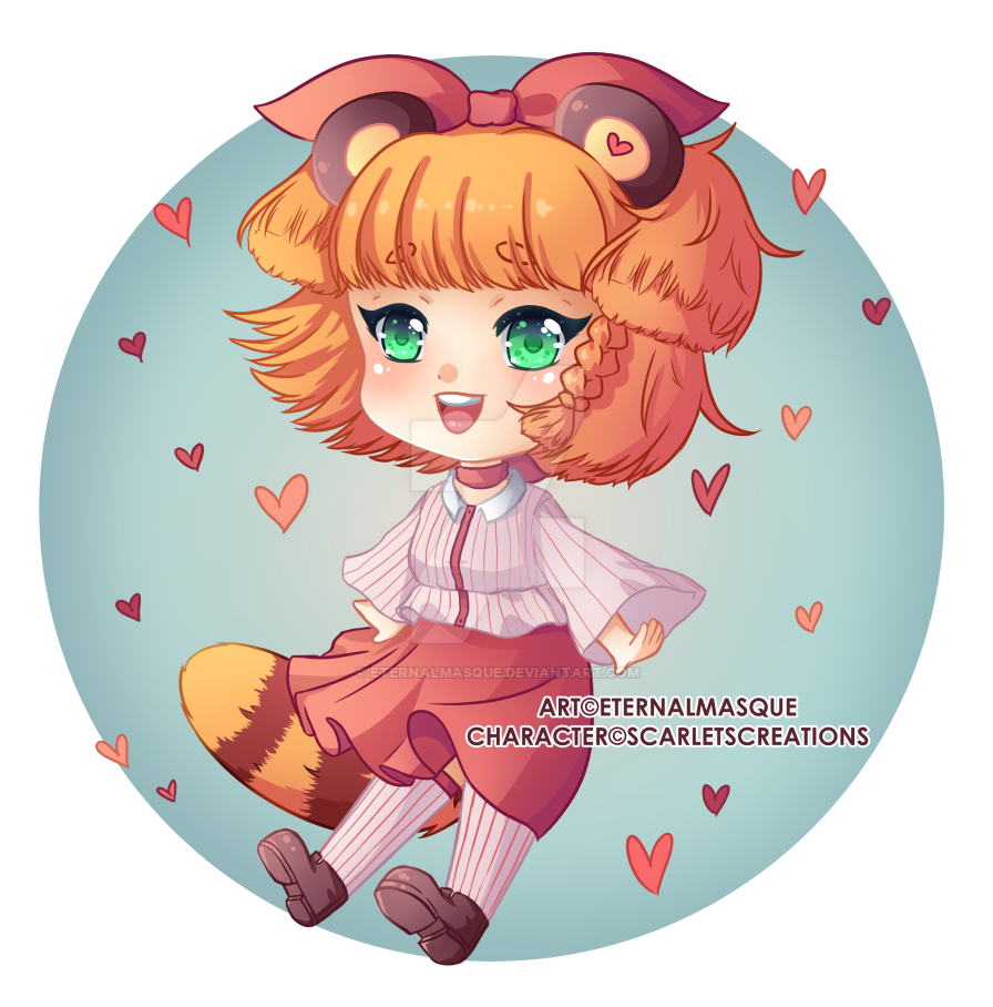 [Auction Prize] Rinako [+Speedpaint] by EternalMasque