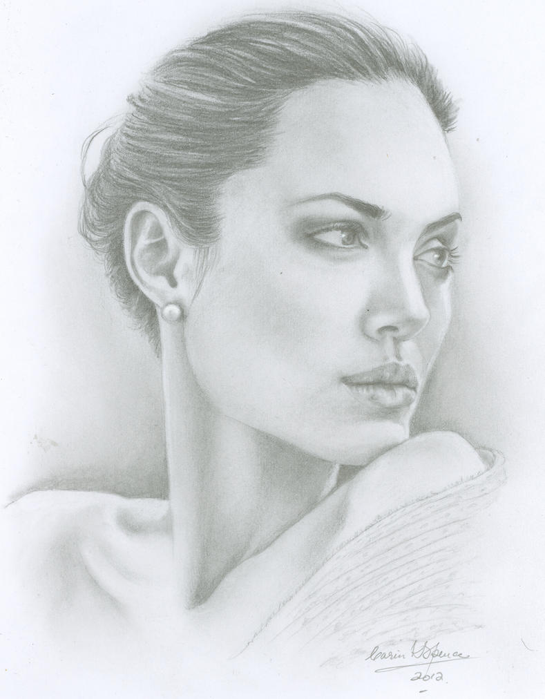 Angelina Jolie by CarinKaySpence