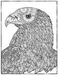 Dotwork Eagle
