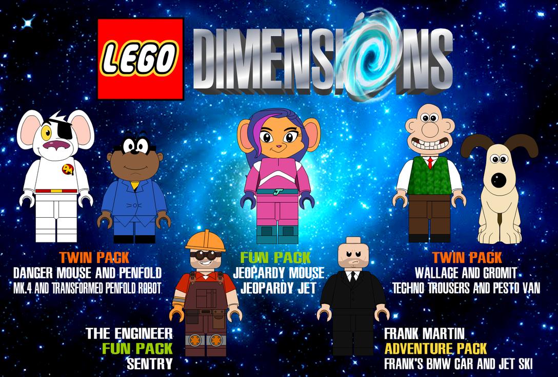 Lego Dimensions Wishlist 1 By AshleyWolf259 On DeviantArt
