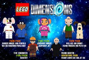 Lego Dimensions Wishlist 1 by AshleyWolf259