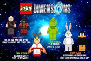 Lego Dimensions Wishlist 3 by AshleyWolf259