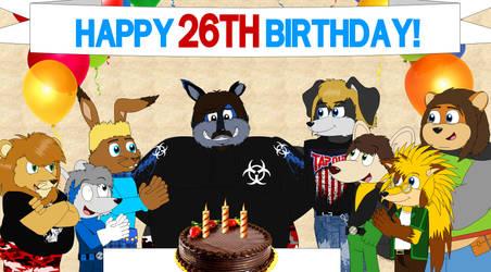 26th Birthday by AshleyWolf259