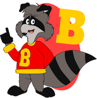 Bert 'coon by AshleyWolf259