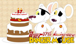 37 Years of Danger Mouse