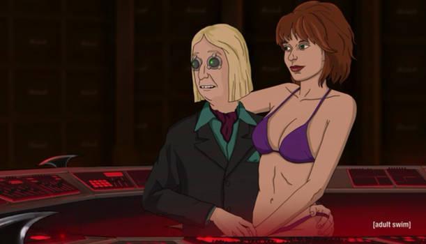 Dick Knubbler w/ a prostitute