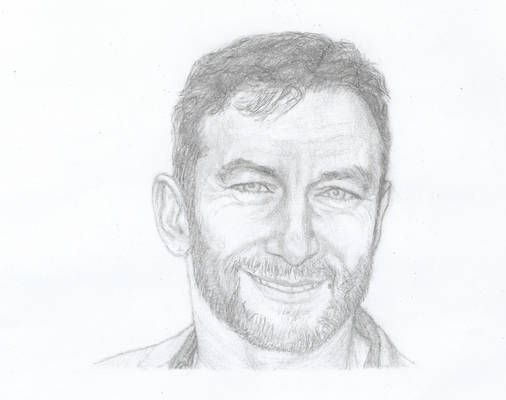 My drawing of Jason Isaacs (pencil)
