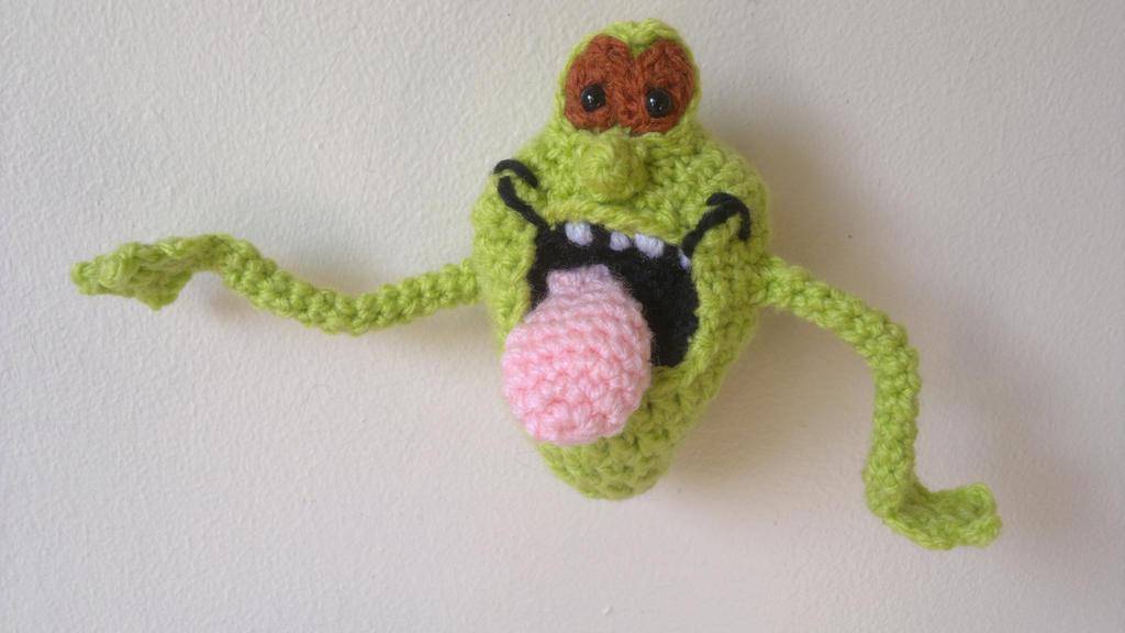 Ghostbusters Amigurumi Pattern : Crochet / Amigurumi Slimer from Ghostbusters by ...