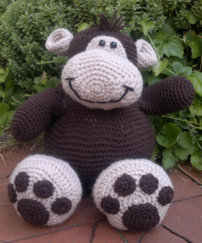 Monkey Amigurumi Knitting Pattern : Mickey Monkey Amigurumi Crochet. Pattern Available by ...