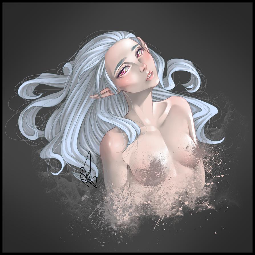Elf girl by SeikaScarlet
