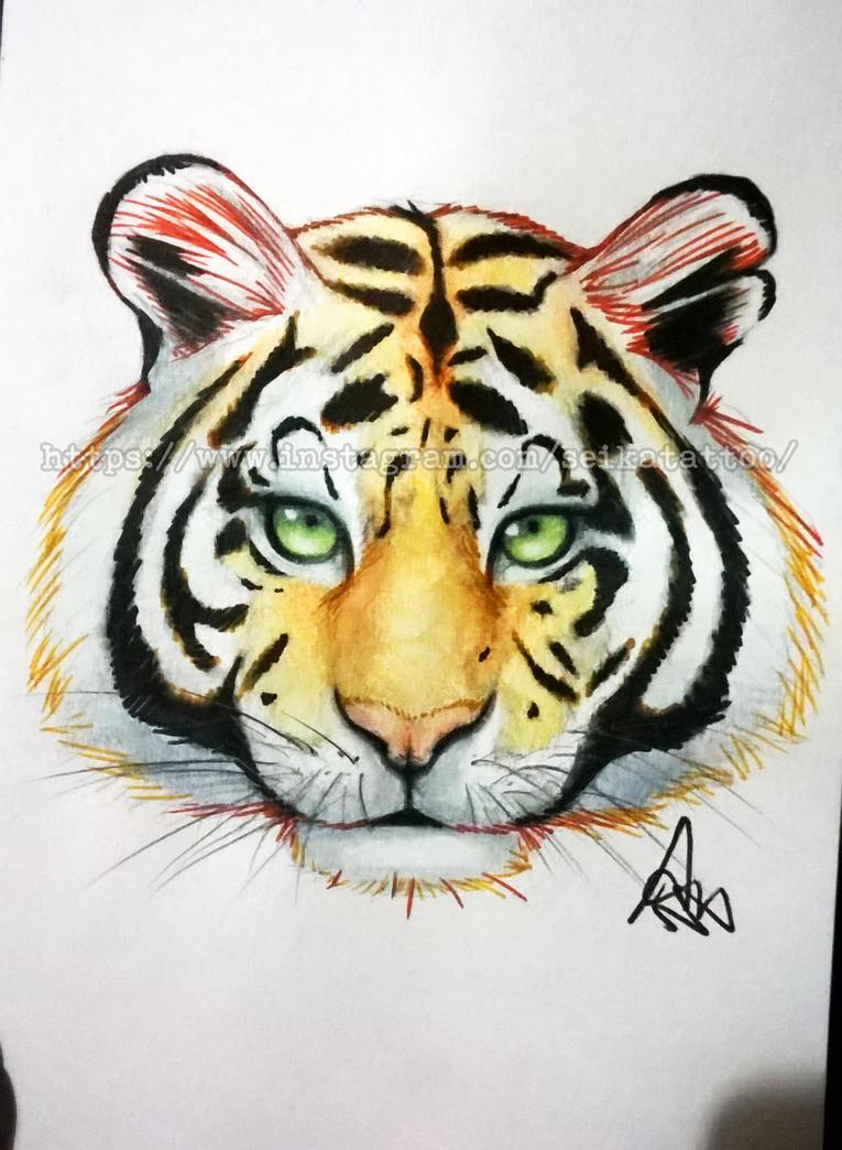 Tiger by SeikaScarlet