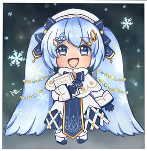 Chibi Snow Miku 2021