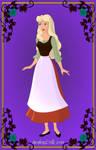 Aurora as Cinderella