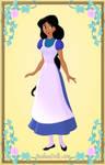 Jasmine as Alice