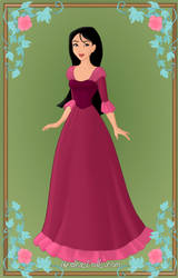 Mulan as Belle2 by Heroine-FA-C-n-Xover
